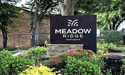Community Signage, Meadow Ridge, 2