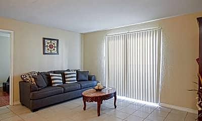 Living Room, Sausalito Apartments, 1