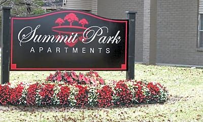 Community Signage, Summit Park Apartments, 2