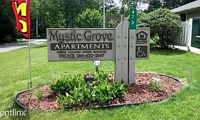 Community Signage, Mystic Grove, 2
