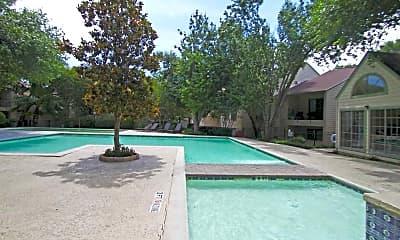 Pool, Magnolia Court, 1