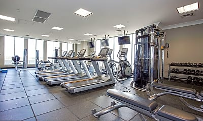 Fitness Weight Room, 851 N Glebe Rd 1516, 2