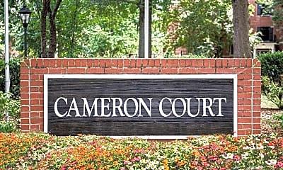 Community Signage, Cameron Court/Shelton Apartments, 2