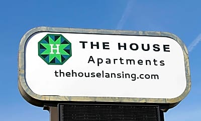 Community Signage, The House - Now Pre leasing for 2014, 2