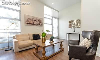 Living Room, 1365 Flower St, 1