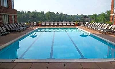 Pool, The Meridian at Courthouse Commons, 2