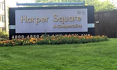Harper Square Cooperative, 1