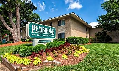 Community Signage, Pembroke Town Center Apartments, 2