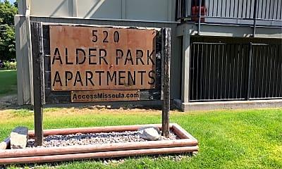 Alder Apartments, 1