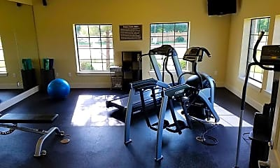 Fitness Weight Room, Tuscana Apartments, 2