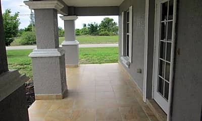 Patio / Deck, 229 NW 7th Ter, 1