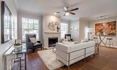 Living Room, 2201 Rockbrook Dr, 2