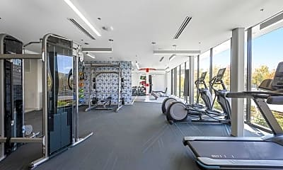 Fitness Weight Room, 200 Presidential Way, 2