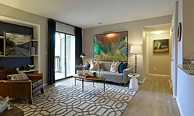 Living Room, The Lakes Bellevue, 1