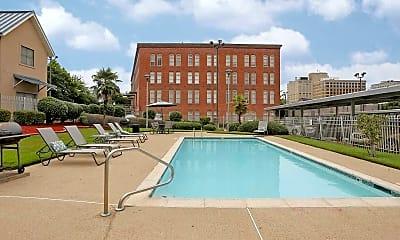 Pool, Lee Hardware Apartments, 0