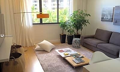 Living Room, 540 Brickell Key Dr 501, 1