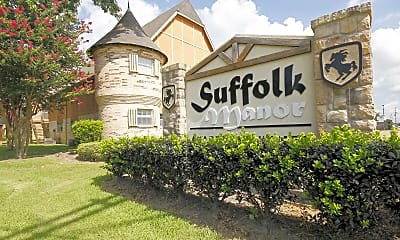 Community Signage, Suffolk Manor Apartments, 2
