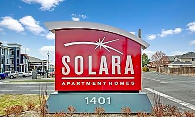 Community Signage, Solara Apartments, 2