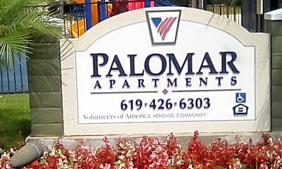 Palomar Apts, 1