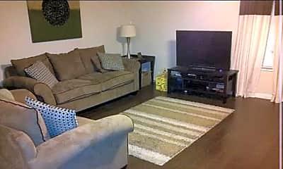 Living Room, 6307 Forest Village, 0
