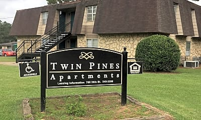 Twin Pines Apartments, 1
