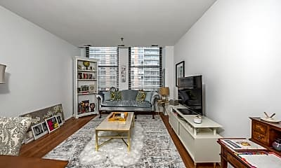 Living Room, 780 S Federal St 806, 1