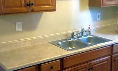 Kitchen, 959 Ridge Road Apartments, 2