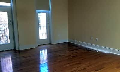 Living Room, 401 N. Brady St. Forrest Block, 1