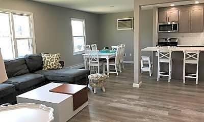 Living Room, 61 K St FIRST, 0