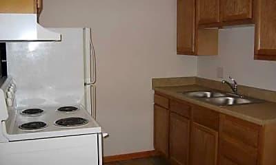 Kitchen, Charles Apartments, 2