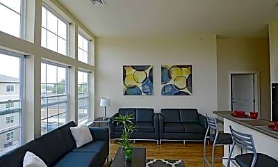 Living Room, Beacon Springfield Student Living, 0