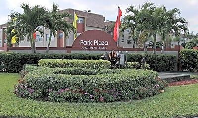 Community Signage, Park Plaza, 2