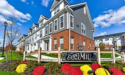 Community Signage, Evans Mill, 2