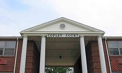 Building, Copley Court Apartments, 1