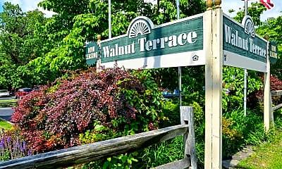 Community Signage, Walnut Terrace, 2