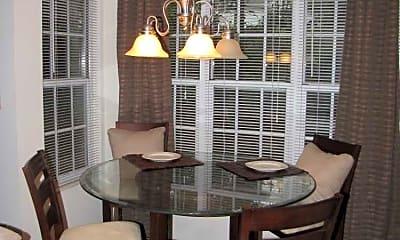 Dining Room, Stoney Run Condominiums, 1