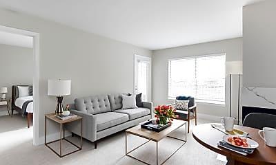 Living Room, The Arbors on Duke, 1