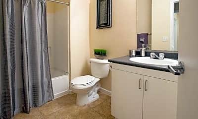 Bathroom, Castle Rock at Fresno, 1