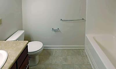 Bathroom, Gateway Apartments Lancaster, 2