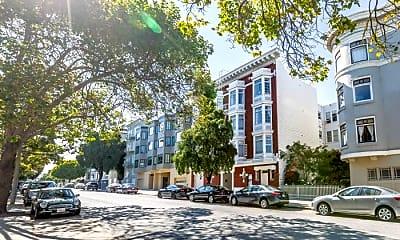 Building, 2732 Sacramento St, 2