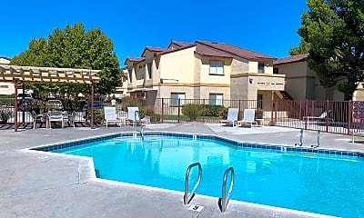 Pool, Desert Heights Apartments, 0