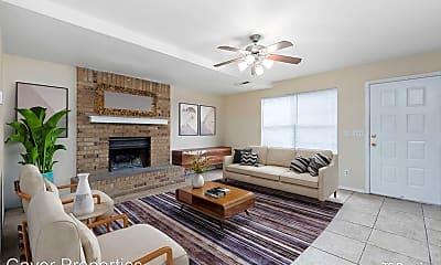 Living Room, 2028 N Ball Ave, 0
