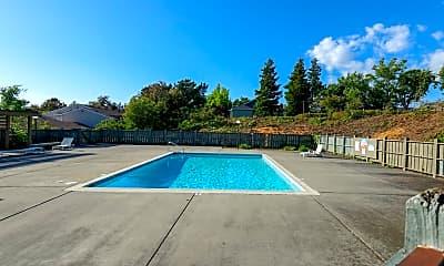 Pool, Valencia Terrace Apartments, 1