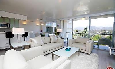 Living Room, 201 Ocean Ave 910B, 2