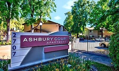 Community Signage, Ashbury Court, 2