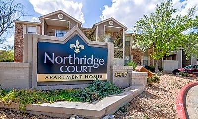 Community Signage, Northridge Court Apartments, 2