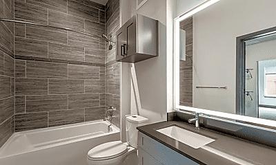 Bathroom, 1111 S Lincoln St, 1