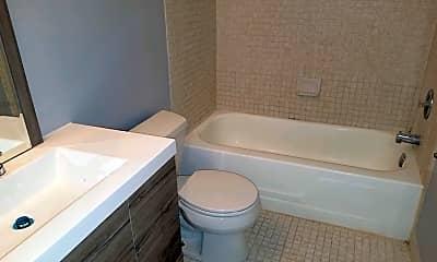 Bathroom, Richfield Garden Apartments, 1