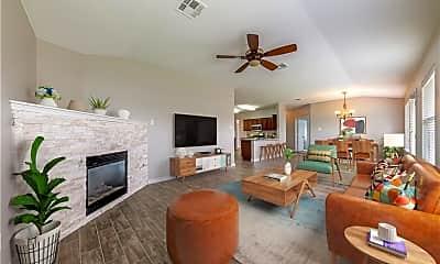 Living Room, 3200 Corrigan Ln, 0