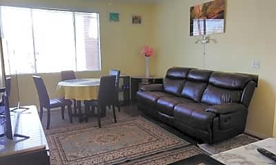 Living Room, 5345 E Van Buren #206, 1